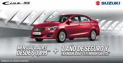 Ofertas de Suzuki  en el folleto de Ciudad de México