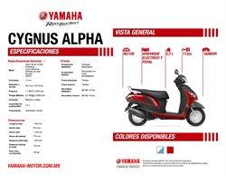 Catálogo Yamaha en Ciudad de México ( Más de un mes )