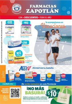 Ofertas de Farmacias Zapotlan en el catálogo de Farmacias Zapotlan ( Vence hoy)
