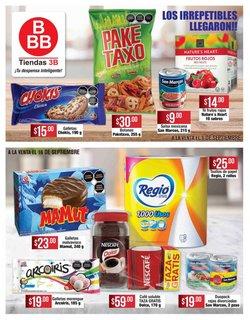 Ofertas de Tiendas Tres B en el catálogo de Tiendas Tres B ( 8 días más)
