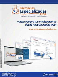 Catálogo Farmacias Especializadas ( Más de un mes )