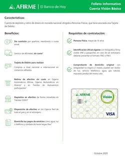 Ofertas de Afirme en el catálogo de Afirme ( 2 días publicado)