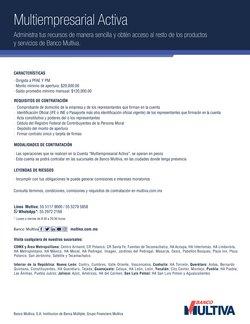 Ofertas de Bancos y Servicios en el catálogo de Multiva en Álvaro Obregón (CDMX) ( Más de un mes )