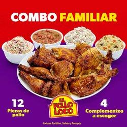 Ofertas de Restaurantes en el catálogo de El Pollo Loco ( Vence hoy)