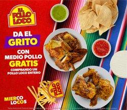 Ofertas de Restaurantes en el catálogo de El Pollo Loco ( 6 días más)