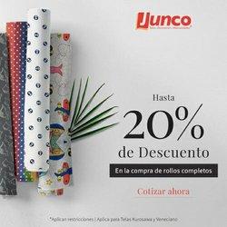 Ofertas de Telas Junco en el catálogo de Telas Junco ( Vencido)