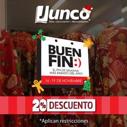 Ofertas de Telas Junco  en el folleto de Ciudad de México