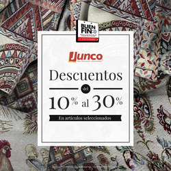 Cupón Telas Junco en Álvaro Obregón (CDMX) ( 5 días más )