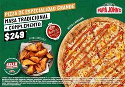 Ofertas de Restaurantes en el catálogo de Papa Johns pizza en Frontera (COAH) ( 2 días publicado )