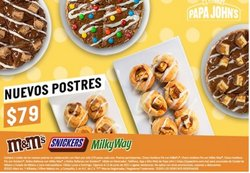 Ofertas de Restaurantes en el catálogo de Papa Johns pizza ( Vence hoy)