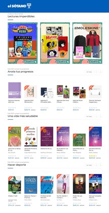 Ofertas de Librerías y Papelerías en el catálogo de El Sótano en Cuautitlán ( 9 días más )