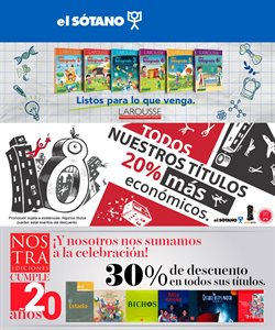 Catálogo El Sótano ( Caducado )