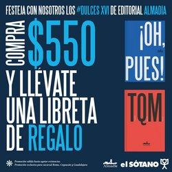 Ofertas de Librerías y Papelerías en el catálogo de El Sótano en Santiago de Querétaro ( 2 días más )