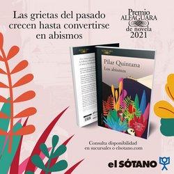 Ofertas de Novelas en El Sótano