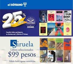 Ofertas de Librerías y Papelerías en el catálogo de El Sótano ( 17 días más)