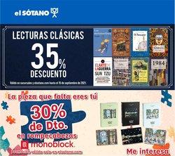 Ofertas de Librerías y Papelerías en el catálogo de El Sótano ( 5 días más)