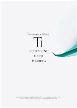 Ofertas de Marcas de Lujo en el catálogo de Tiffany & Co en San Nicolás de los Garza ( Publicado hoy )