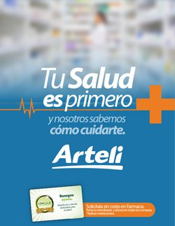 Catálogo Arteli ( 16 días más )