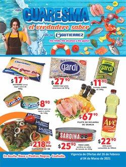 Catálogo Super Gutierrez ( Vence mañana )