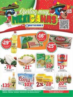 Ofertas de Hiper-Supermercados en el catálogo de Super Gutierrez ( Vence mañana)