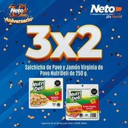 Ofertas de Hiper-Supermercados en el catálogo de Tiendas Neto ( Publicado hoy)