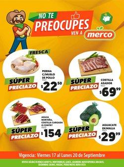 Ofertas de Merco en el catálogo de Merco ( Vence mañana)