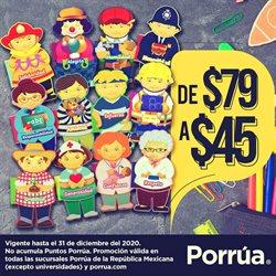 Ofertas de Librerías y Papelerías en el catálogo de Librería Porrúa en Cancún ( Más de un mes )