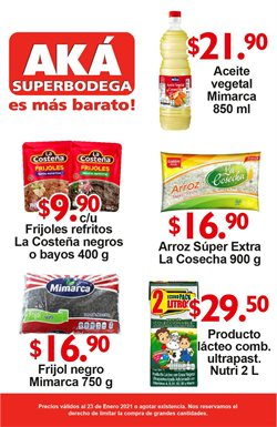 Catálogo AKÁ Superbodega ( Vence mañana )
