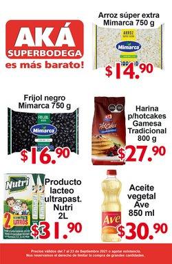 Ofertas de AKÁ Superbodega en el catálogo de AKÁ Superbodega ( 4 días más)