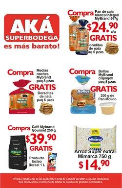 Ofertas de AKÁ Superbodega en el catálogo de AKÁ Superbodega ( Publicado ayer)