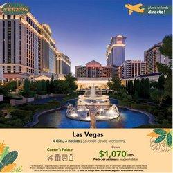 Ofertas de Viajes en el catálogo de Viajes Sears ( 3 días más)