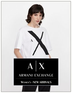 Ofertas de Armani Exchange en el catálogo de Armani Exchange ( Más de un mes)
