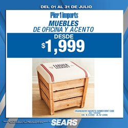 Ofertas de Sears  en el folleto de Puebla