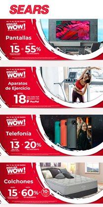 Ofertas de Tiendas Departamentales en el catálogo de Sears en Torreón ( Publicado hoy )