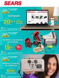 Ofertas de Tiendas Departamentales en el catálogo de Sears en Hermosillo ( 2 días más )