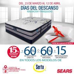 Ofertas de Tiendas Departamentales en el catálogo de Sears en La Paz ( 2 días más )