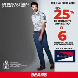 Ofertas de Tiendas Departamentales en el catálogo de Sears en Los Mochis ( 2 días publicado )