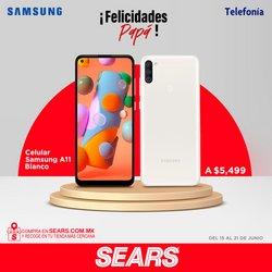 Ofertas de Samsung en el catálogo de Sears ( Vence mañana)