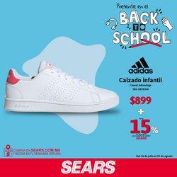 Ofertas de Adidas en el catálogo de Sears ( Publicado hoy)