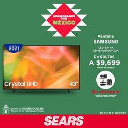 Ofertas de Samsung en el catálogo de Sears ( Publicado ayer)