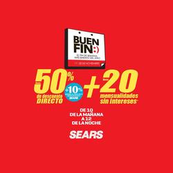 Ofertas de Sears  en el folleto de San Luis Potosí