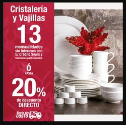 Ofertas de Sears  en el folleto de Xochimilco