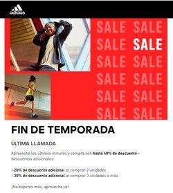 Catálogo Adidas ( Vence mañana)
