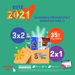 Ofertas de Farmacias y Salud en el catálogo de Farmacias del Ahorro en La Piedad de Cabadas ( 15 días más )
