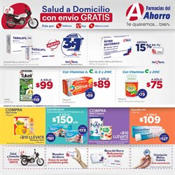 Ofertas de Farmacias y Salud en el catálogo de Farmacias del Ahorro en Santiago de Querétaro ( Vence mañana )