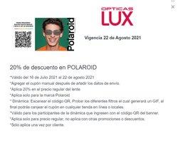Ofertas de Ópticas en el catálogo de Ópticas Lux ( 5 días más)