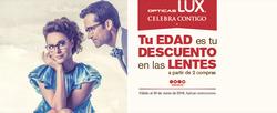 Ofertas de Ópticas Lux  en el folleto de Monterrey