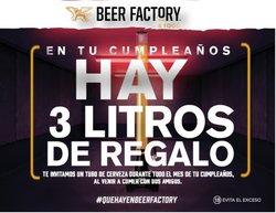 Ofertas de Beer Factory en el catálogo de Beer Factory ( Vence hoy)