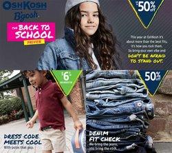 Ofertas de Juguetes y Niños en el catálogo de OshKosh ( 4 días más)