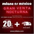 Catálogo Milano ( Caducado )
